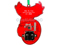 Backside View Printed Circuit Board Noel Ornament